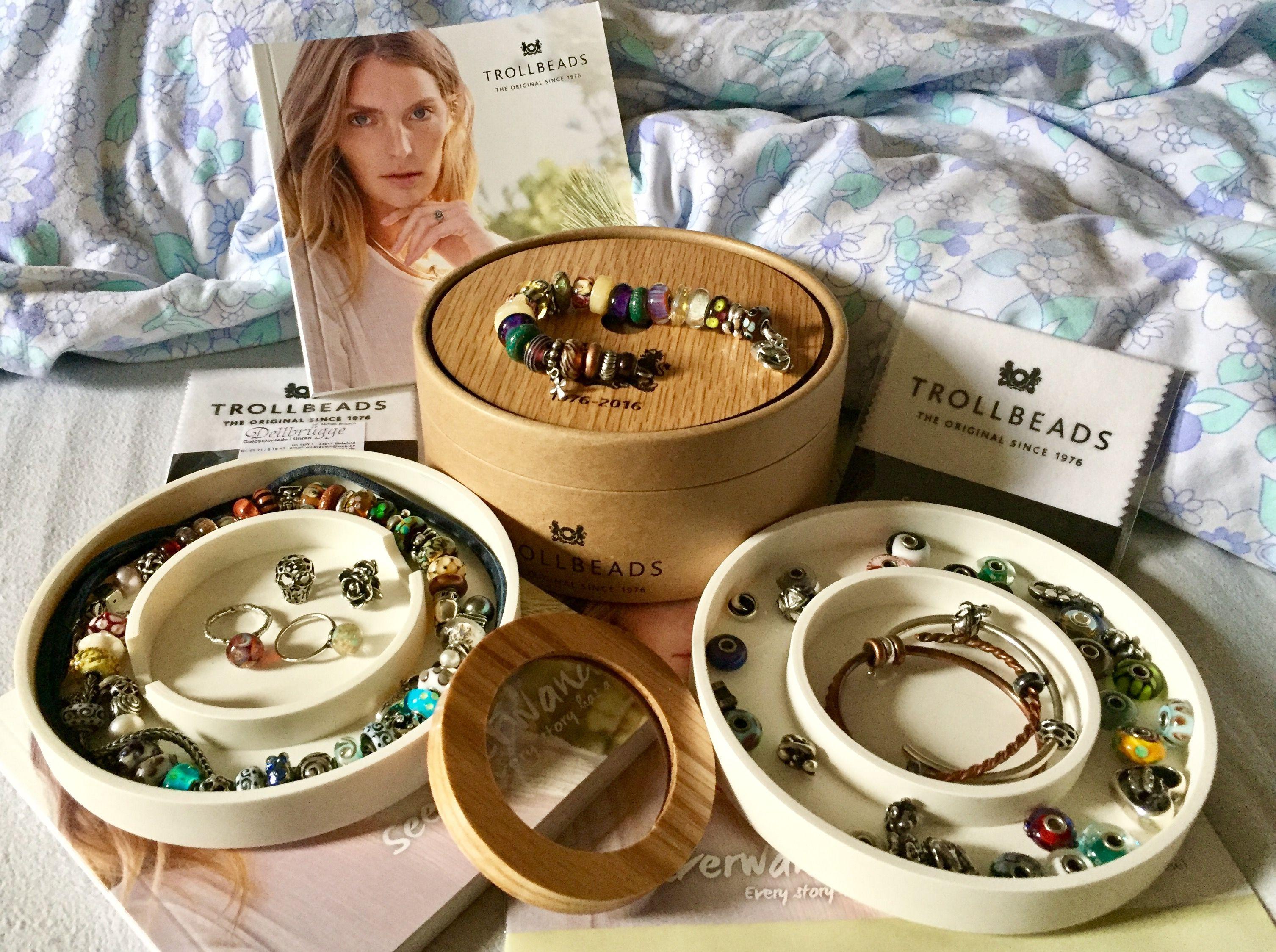 My birthday present: 40th anniversary Trollbeads box Tania Bouckaert