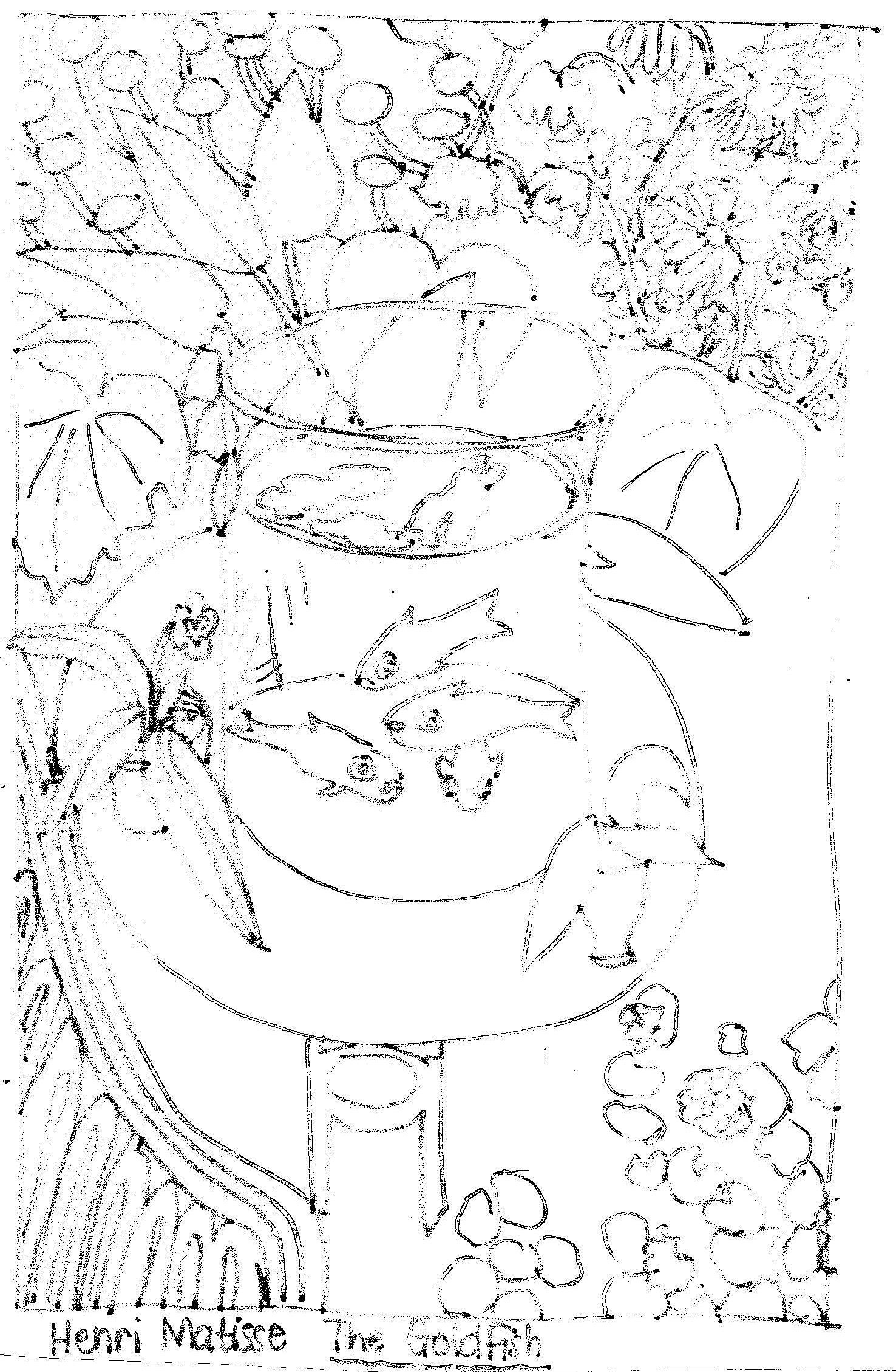 Matisse\'s Goldfish | Art and Artist Study | Pinterest | Matisse ...