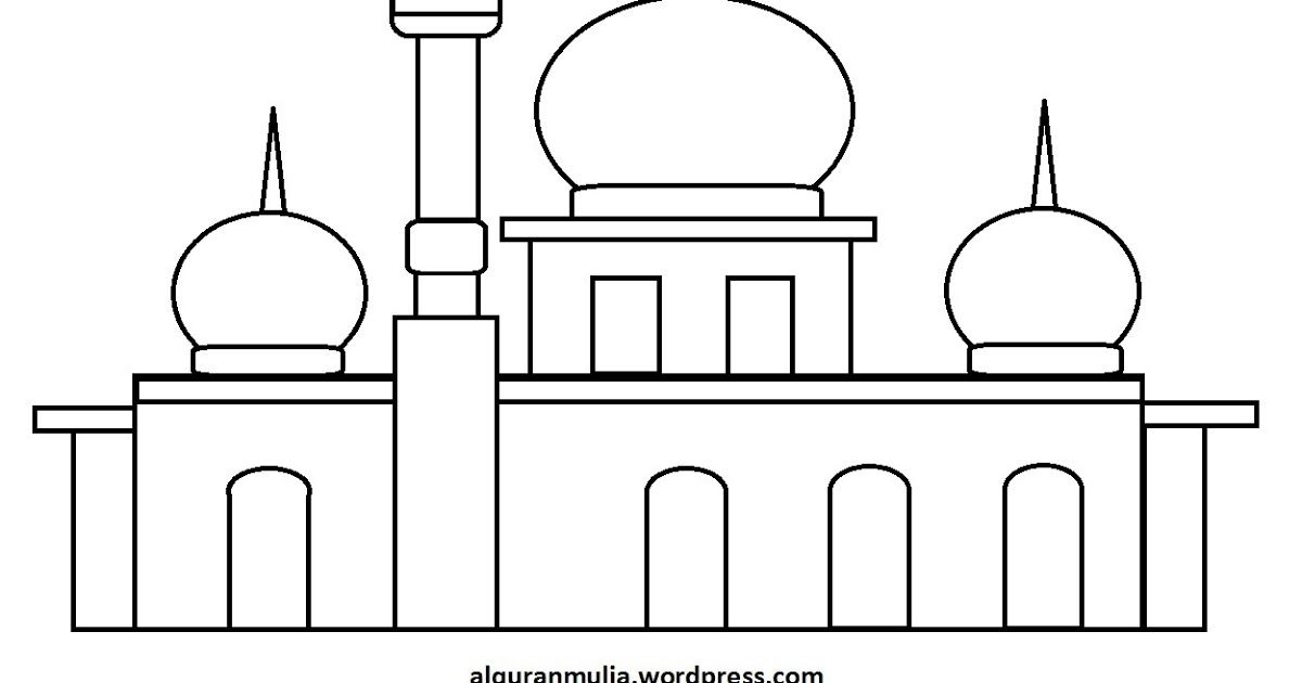 Keren 30 Gambar Kartun Anak Muslim Untuk Mewarnai Di 2020 Dengan