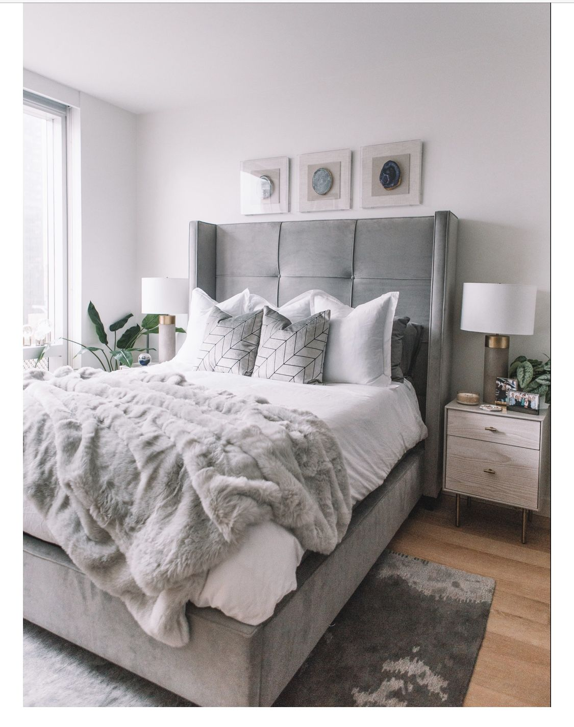 Pin by Zoë Mattox on Home Bedroom inspiration grey