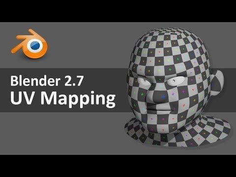 Blender 2.7 UV Mapping 3 of 4 - YouTube