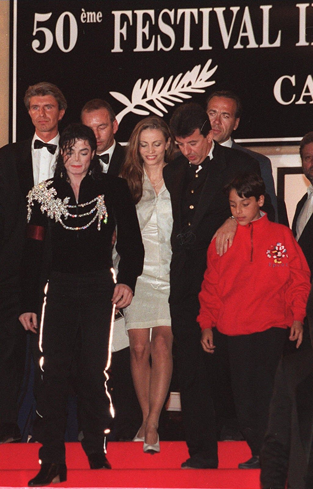 4313390d6212 Michael Jackson Attending the 50th Cannes Film Festival in France 1997