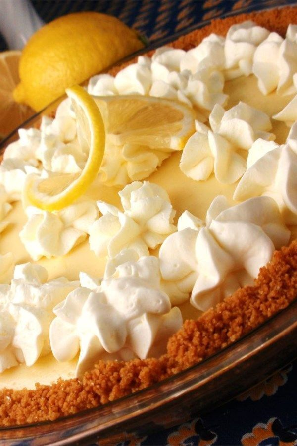 Magic Lemon Pie - pies