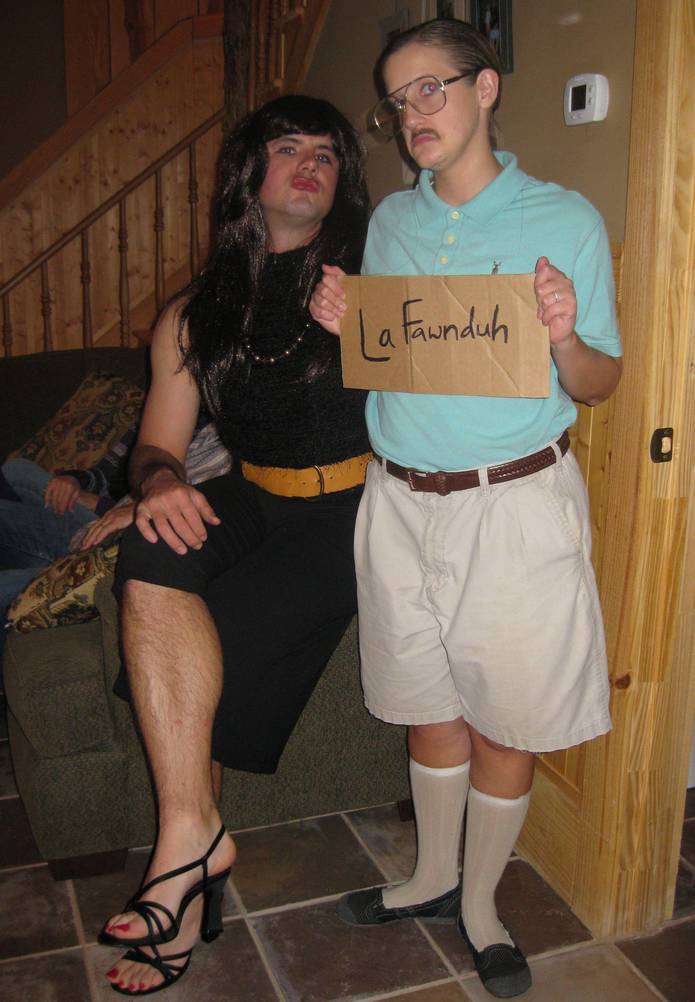 funny halloween costume: kip and lafawnduh from napoleon dynamite