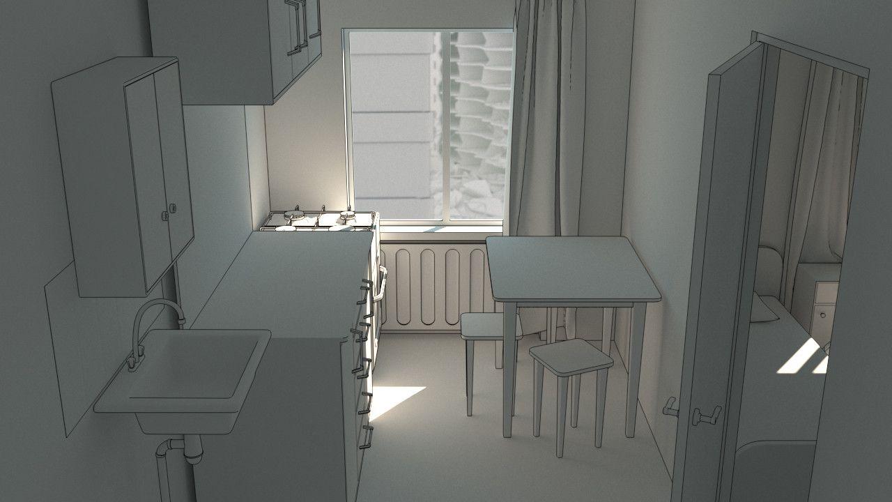ArtStation - Сity, Vlad Hladiyevskyy