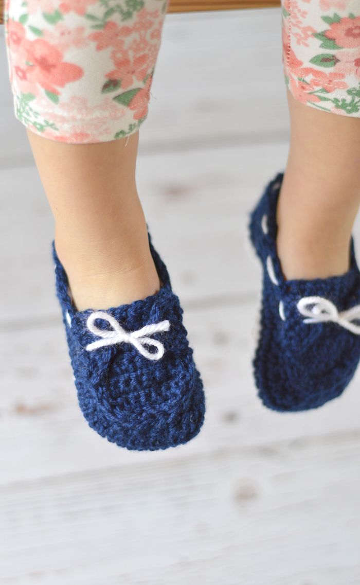 Toddler Boat Slippers Crochet Pattern   Coser y Zapatos