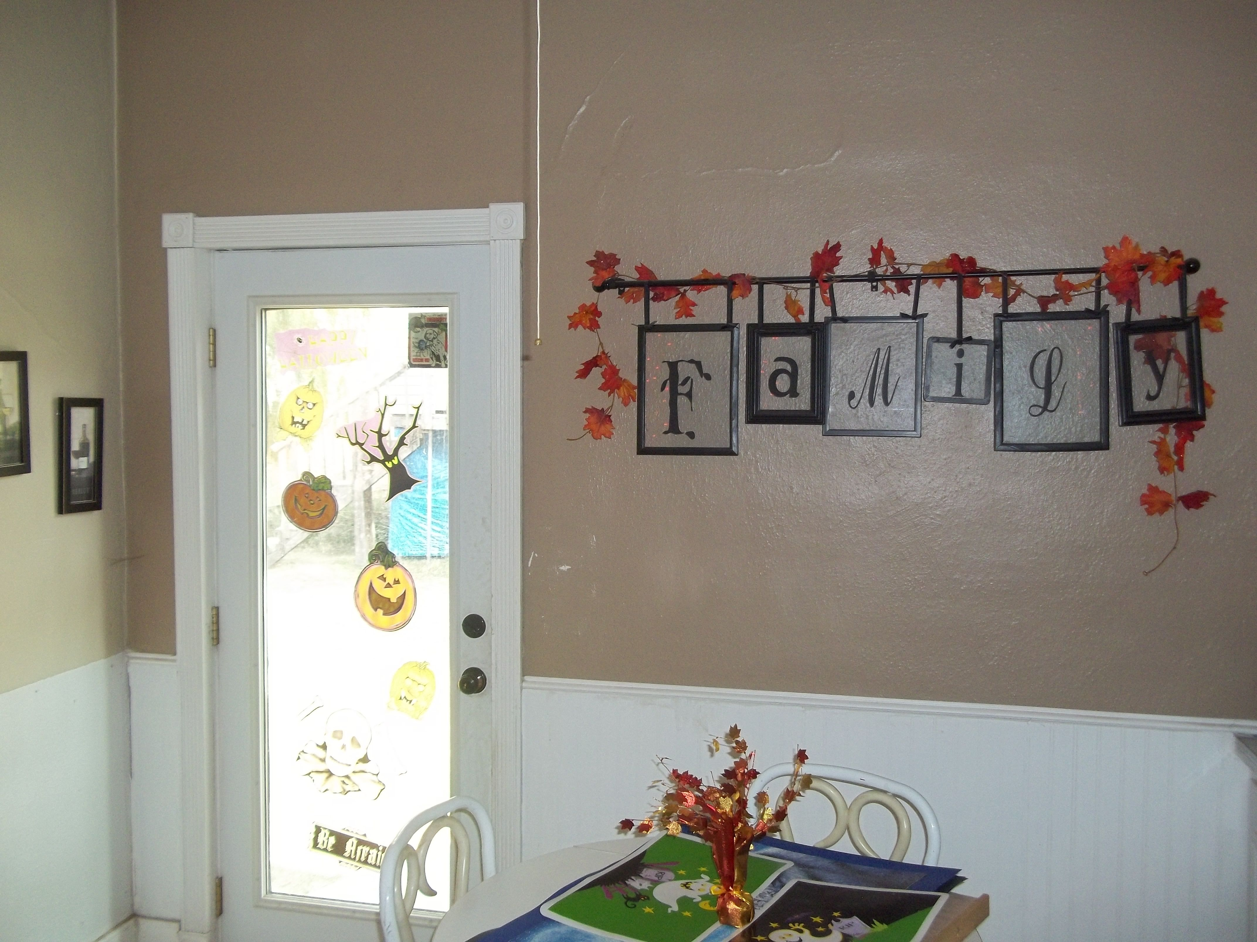 My house at Halloween