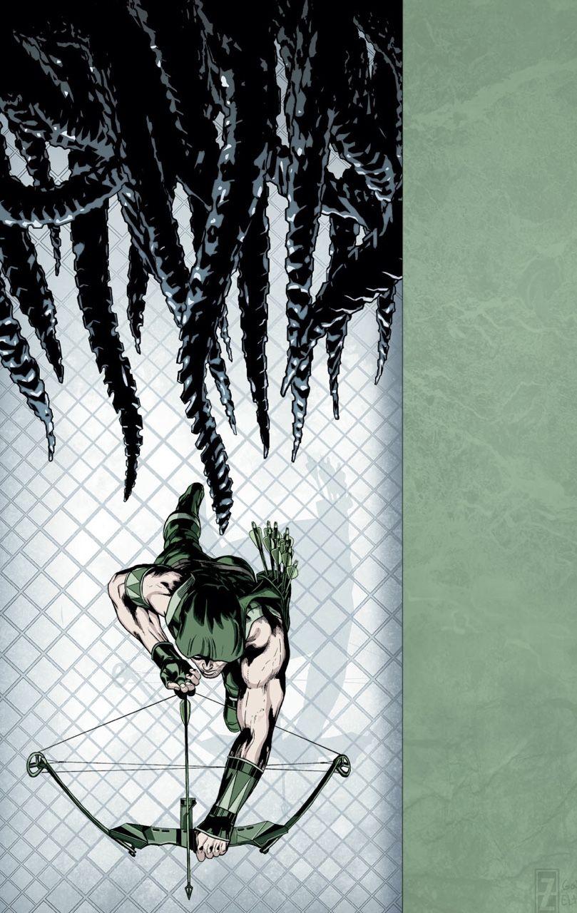 Green Arrow by Patrick Zircher