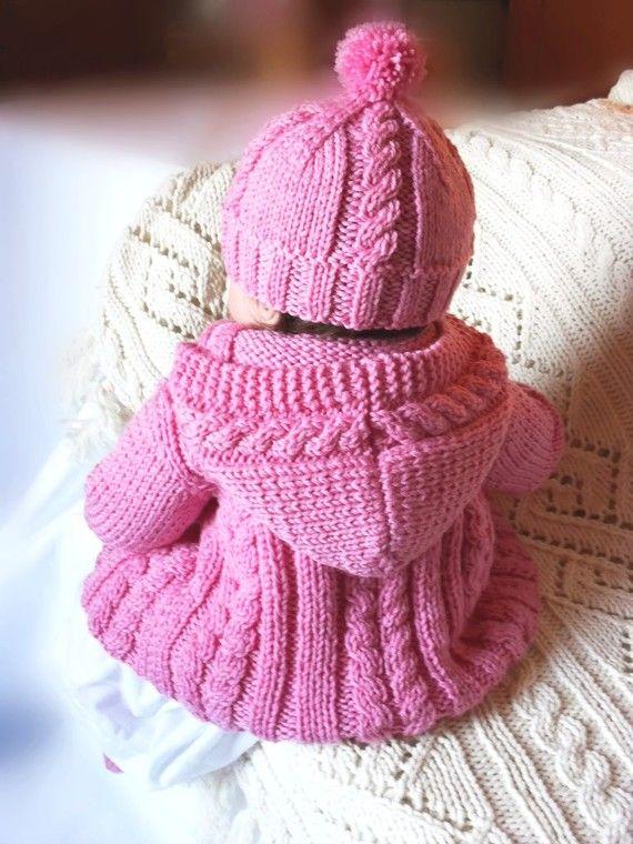 b901b9034 Baby sweater hat socks set Hand Knit Merino wool Baby от Pilland ...