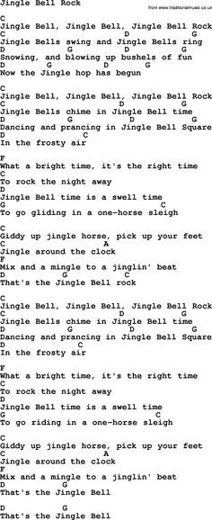 George Strait Song Jingle Bell Rock Lyrics And Chords Learn