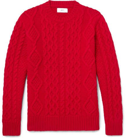 Cable-knit Merino Wool And Cashmere-blend Sweater Mr P. Cheap Price In China Shop Online Shop For Outlet Inexpensive m8A8YvvZ6J
