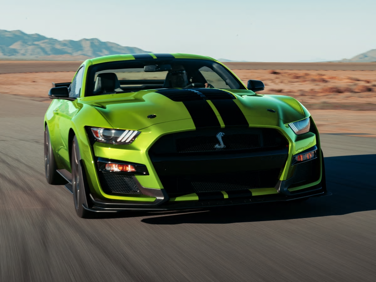 2020 Ford Mustang To Wear A Bit O Green Mustang Shelby Ford Mustang Shelby Shelby Gt500