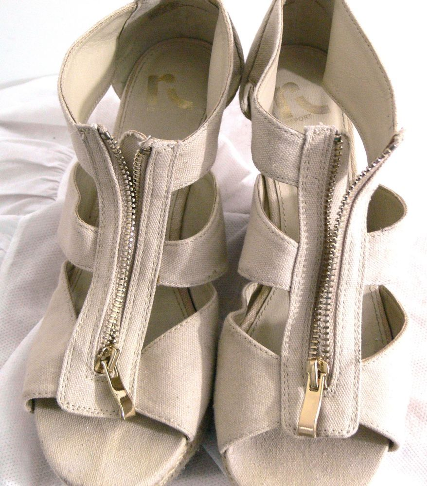 489cbce3c3 Report Open Women's Strappy Open Toe Platform Wedge Size 9.5 Shoes #REPORT  #PlatformsWedges #Casual
