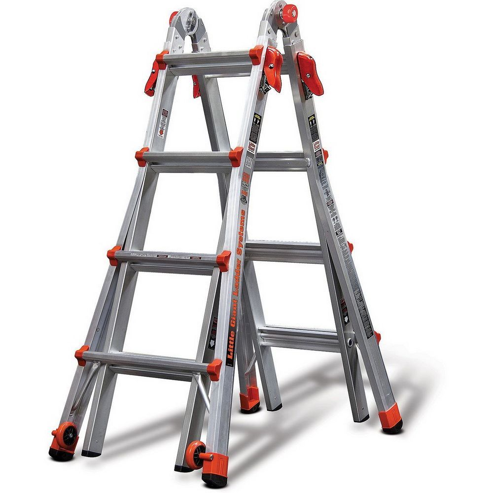 Ebay Sponsored Aluminum Ladder Little Giant Velocity Model 17 Multi Use 24 In 1 Lightweight Best Ladder Aluminium Ladder Little Giants