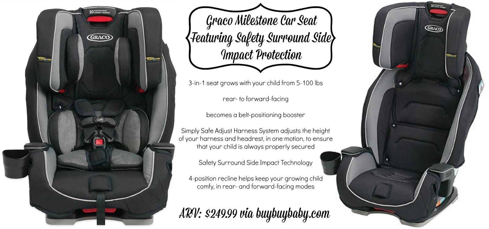 Gracos Milestone All In 1 Car Seat Review