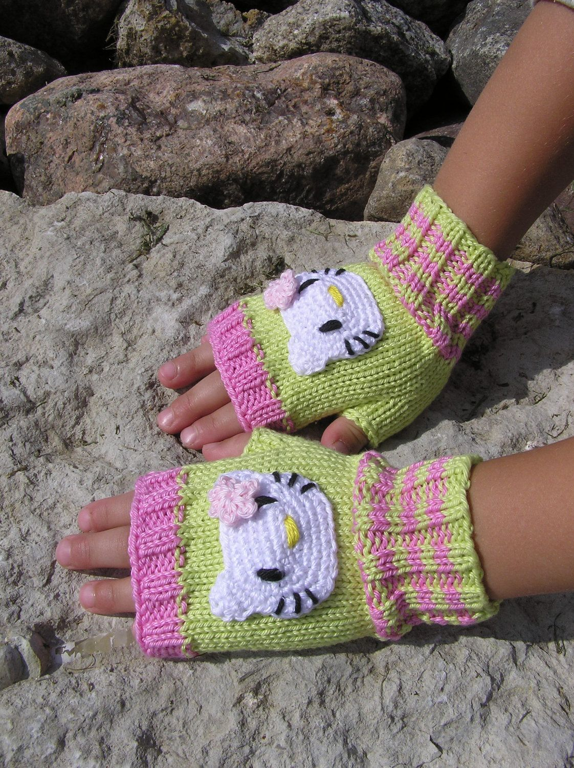 ae23eb506 Wrist Warmers, Fingerless gloves, Kids Arm Warmers, Gloves, Pink and ...