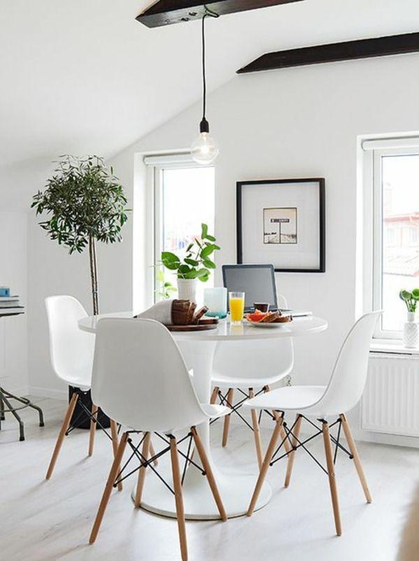Nett runder esstisch weiß roomer has it! Pinterest Interiors - runder küchentisch weiß