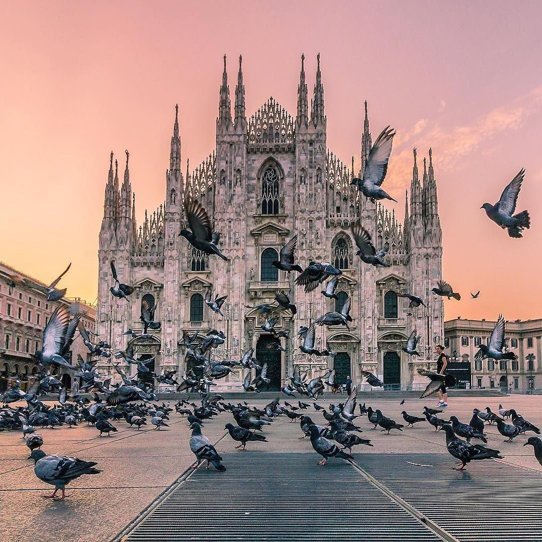 A magical morning in #Milan captured by @wonguy974 #theluxurycollection by theluxurycollection