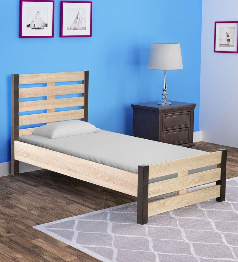 Find great deals on Kuro Queen Bed in Sonoma Oak Finish