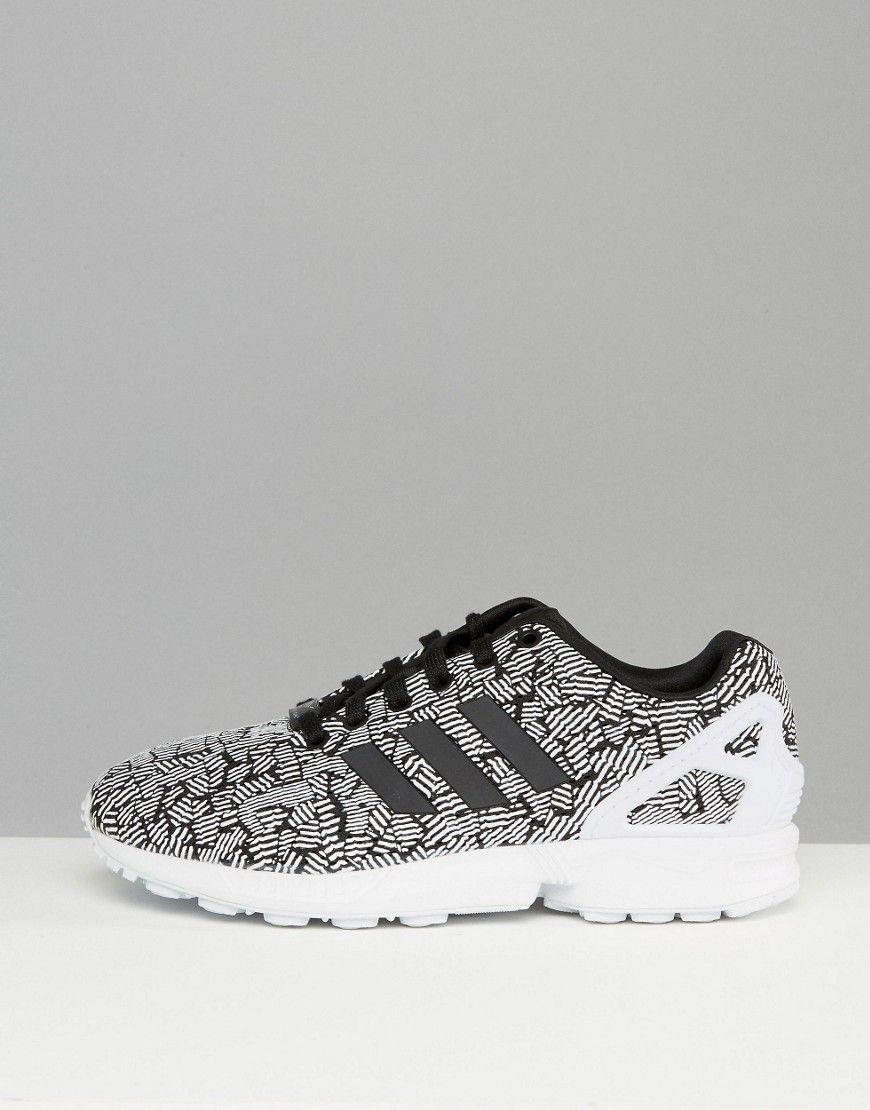 adidas originali adidas zx flusso performance scarpe nere