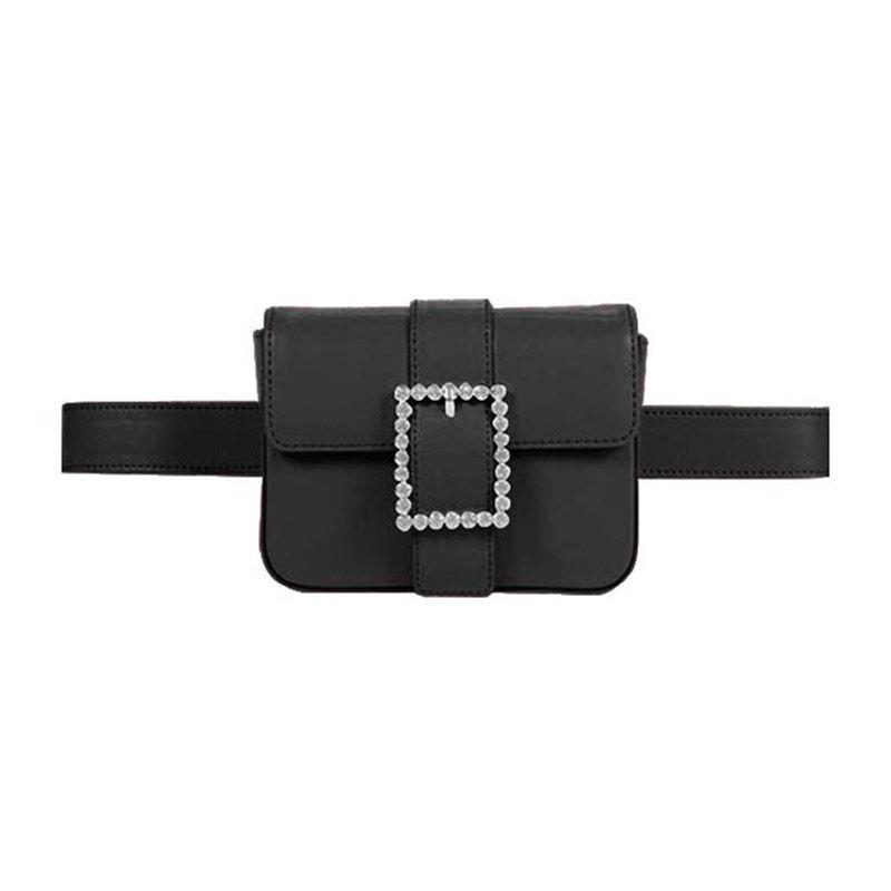 02e80ccd07cd GAIGA Diamante Buckled Versatile Waist Belt Bag - Leather   Wishlist ...