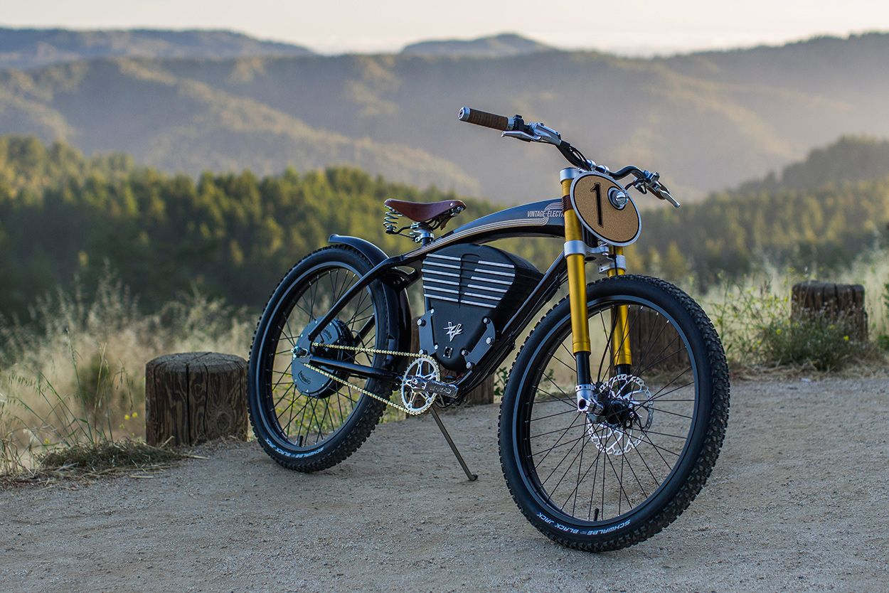 When The Pavement Runs Out Vintage Electric S Scrambler With