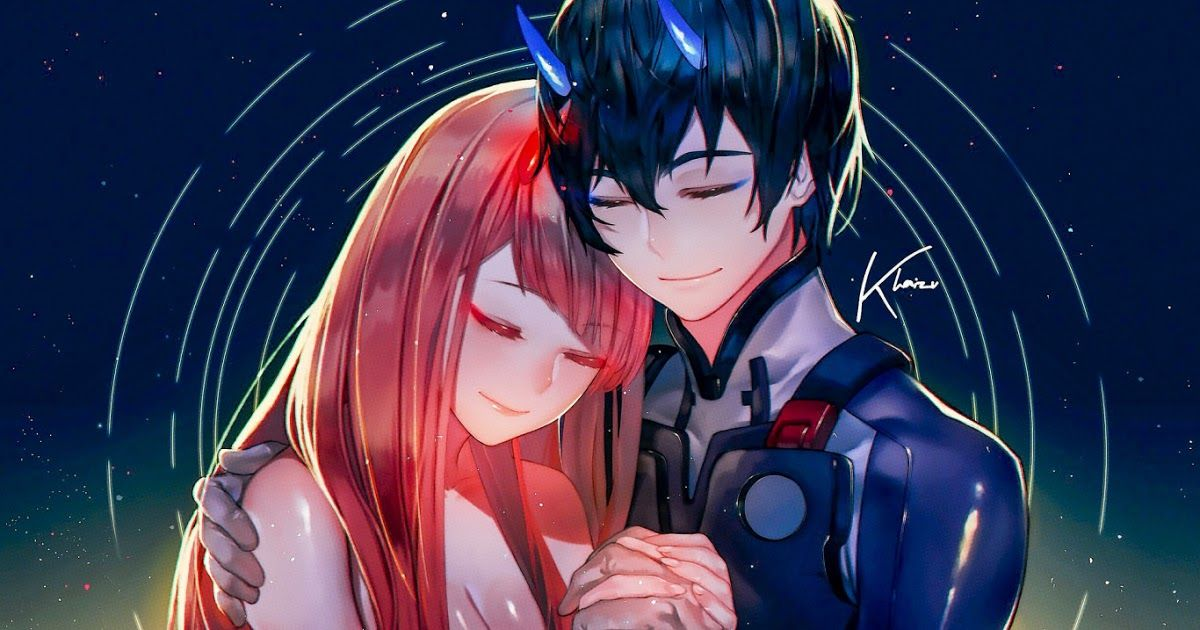Cool Collections Of Cute Anime Couple Wallpaper For Desktop Laptop And Mobiles Tons Of Awesome Romantic Anime Wall In 2020 Anime Wallpaper Anime Darling In The Franxx