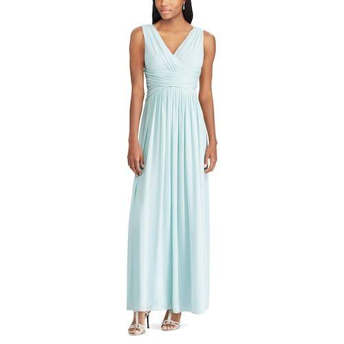 cb0a004d9b6 Women s Chaps Surplice Empire Dress from Kohl s - affordable mint bridesmaid  dress long bridesmaids dresses