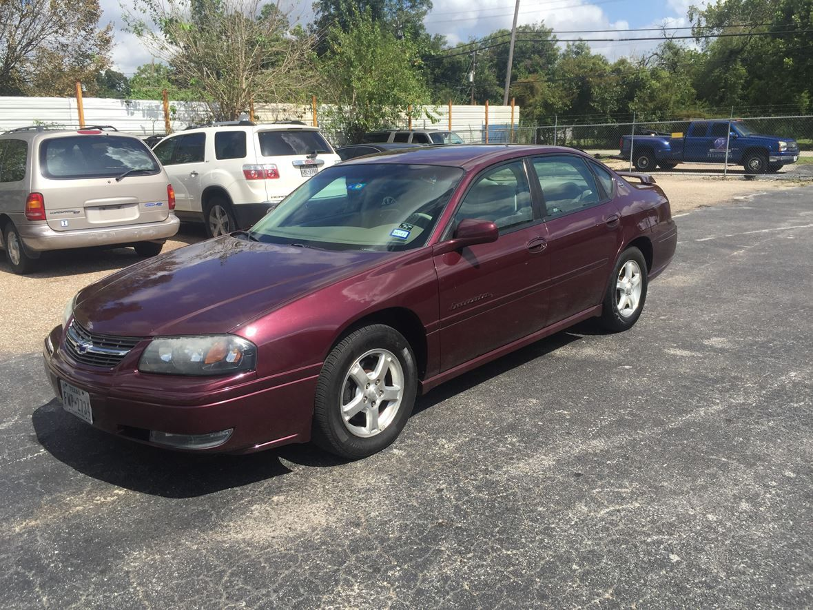 2004 Chevrolet Impala Ls For Sale By Owner In Houston Tx 77091