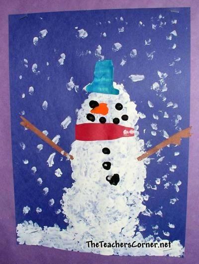 Winter Bulletin Boards