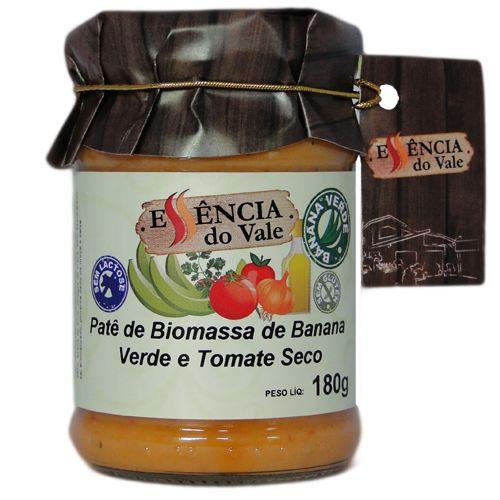 Patê de Biomassa de Banana Verde e Tomate Seco | 180g