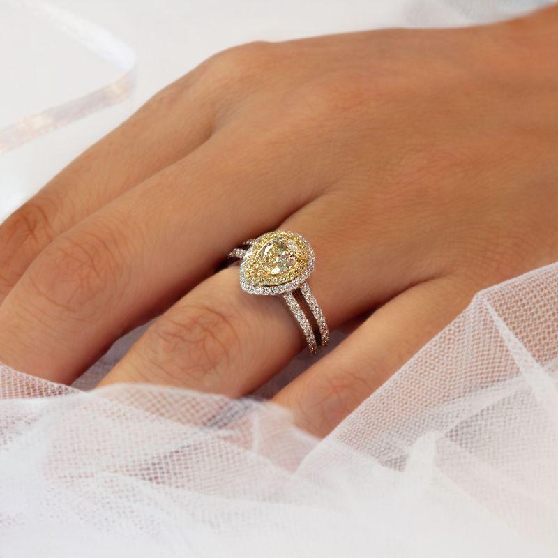 Yellow Diamond Wedding Bands