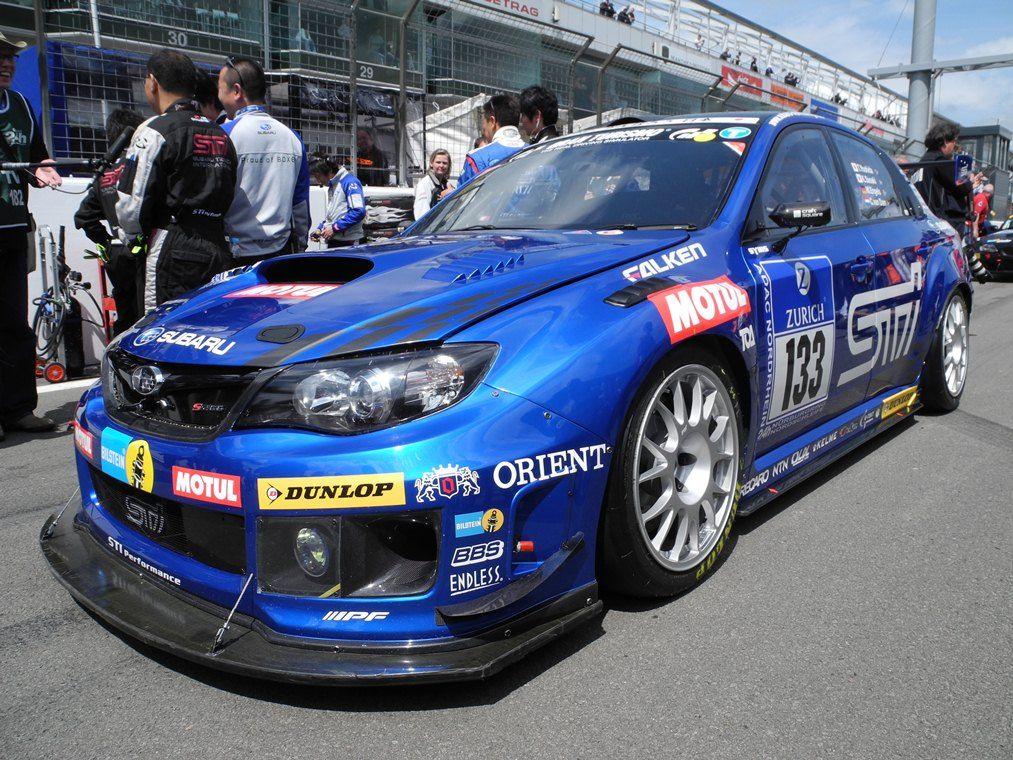 Subaru at the 24-h-Race at the Nürburgring