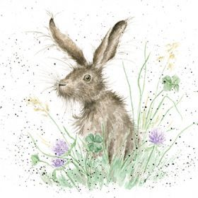 'Clover' Mounted Print