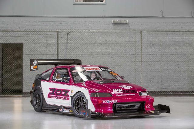 1990 Honda Crx Super Lap Race Car Honda Crx Honda Civic Hatchback Honda