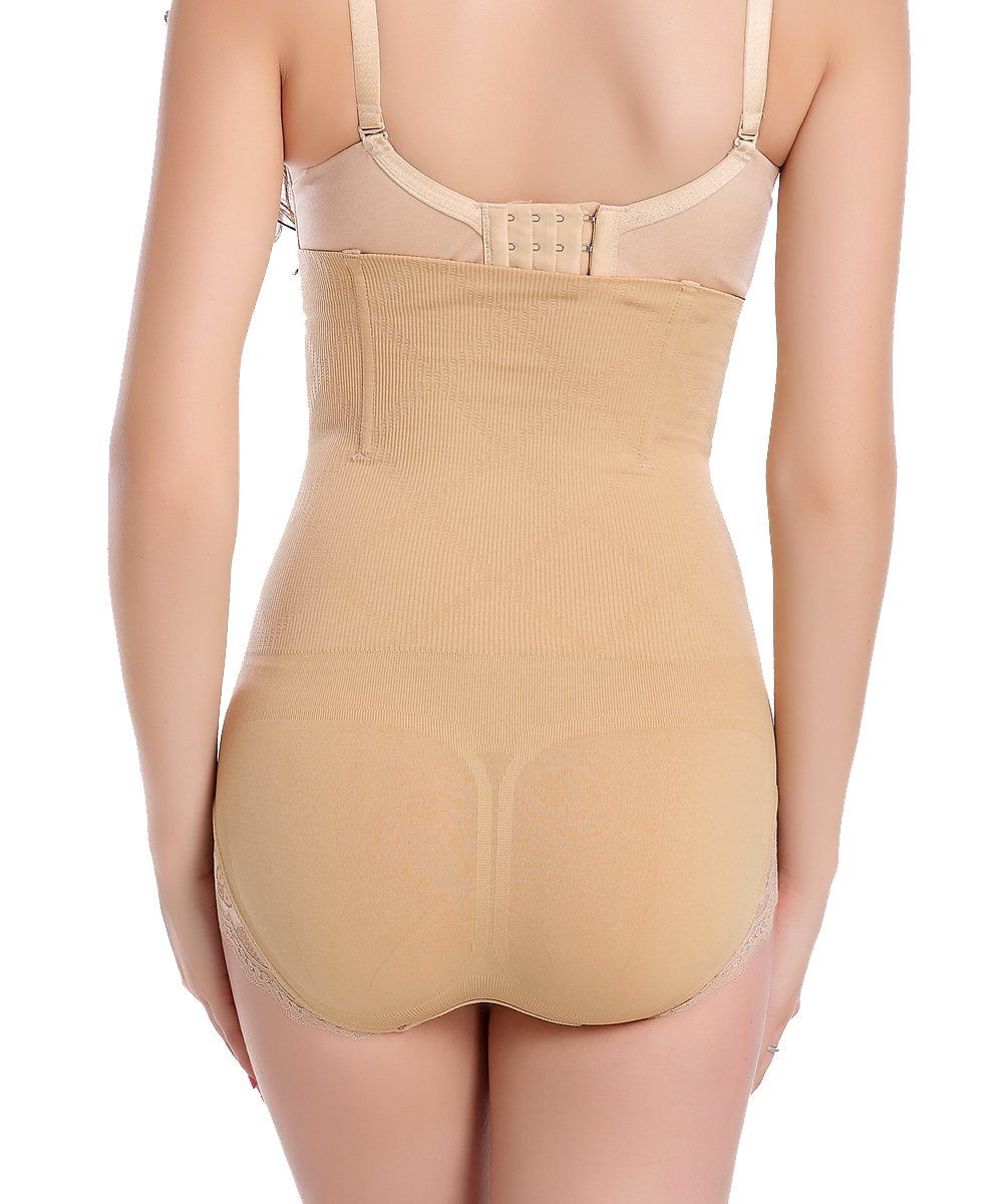 b73c4a655 FUT Womens High Waist Tummy Control Shapewear Panties Slimming Brief Panty  Body Shaper   Continue to the product at the image link.