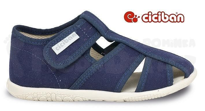 018e3909c8ca Moda děti - Papuče Ciciban NAVY 77440 - detské oblečenie a obuv ...