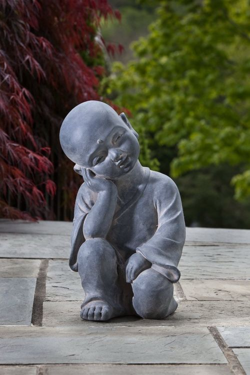 Baby Buddha Garden Statue | Baby Buddha Garden Statue Third Eye