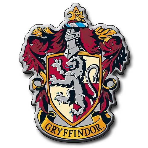 Harry Potter Gryffindor Crest Metal Magnet