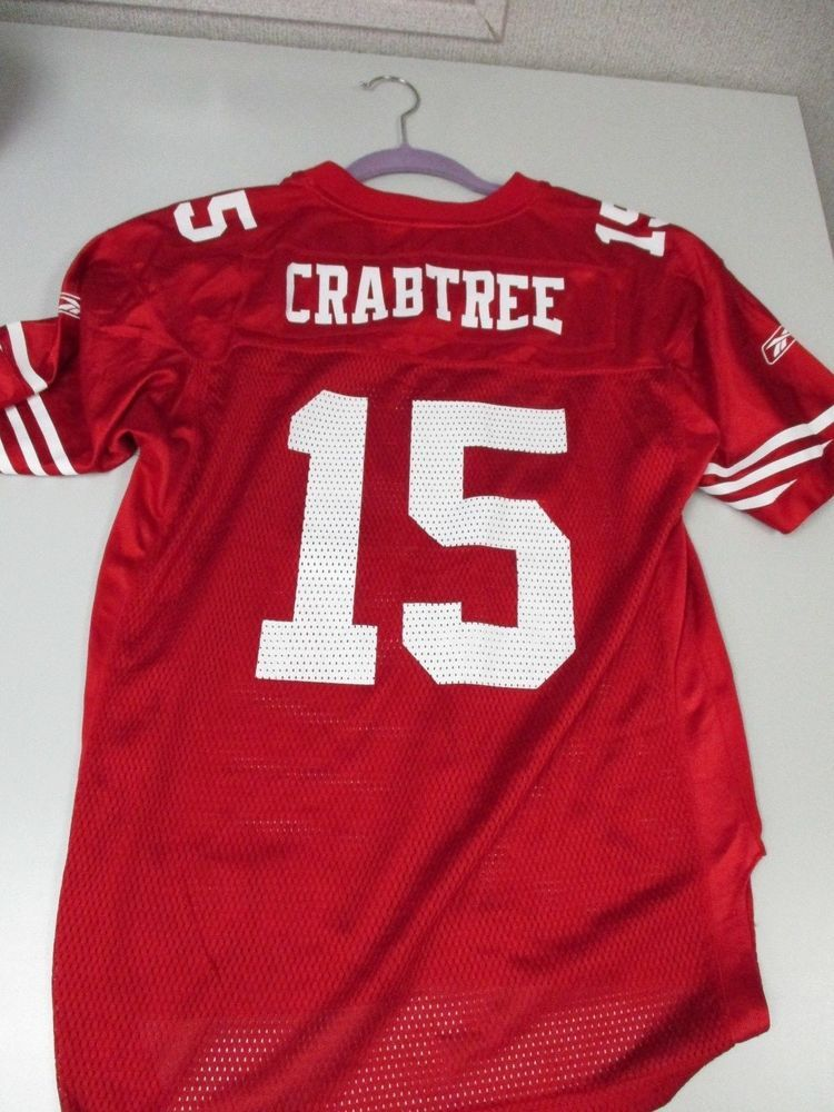 a18734adfbd Reebok SAN FRANCISCO 49ERS JERSEY  15 MICHAEL CRABTREE NFL  Reebok   SanFrancisco49ers  throwback  retro  football  streetstyle  sports   sportswear