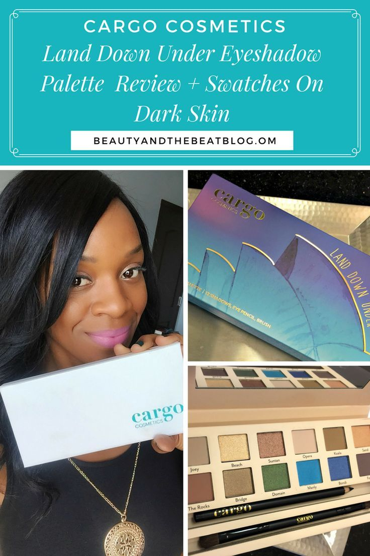 How To Apply Bronzer On Dark Beauty Review: Cargo Cosmetics Land Down Under  Eyeshadow Palette