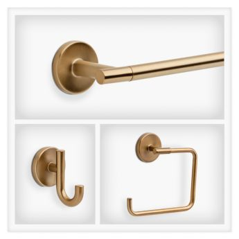 DELTA Trinsic In Champagne Bronze DELTA COLTRINSICCHB Decorative - Delta bathroom hardware