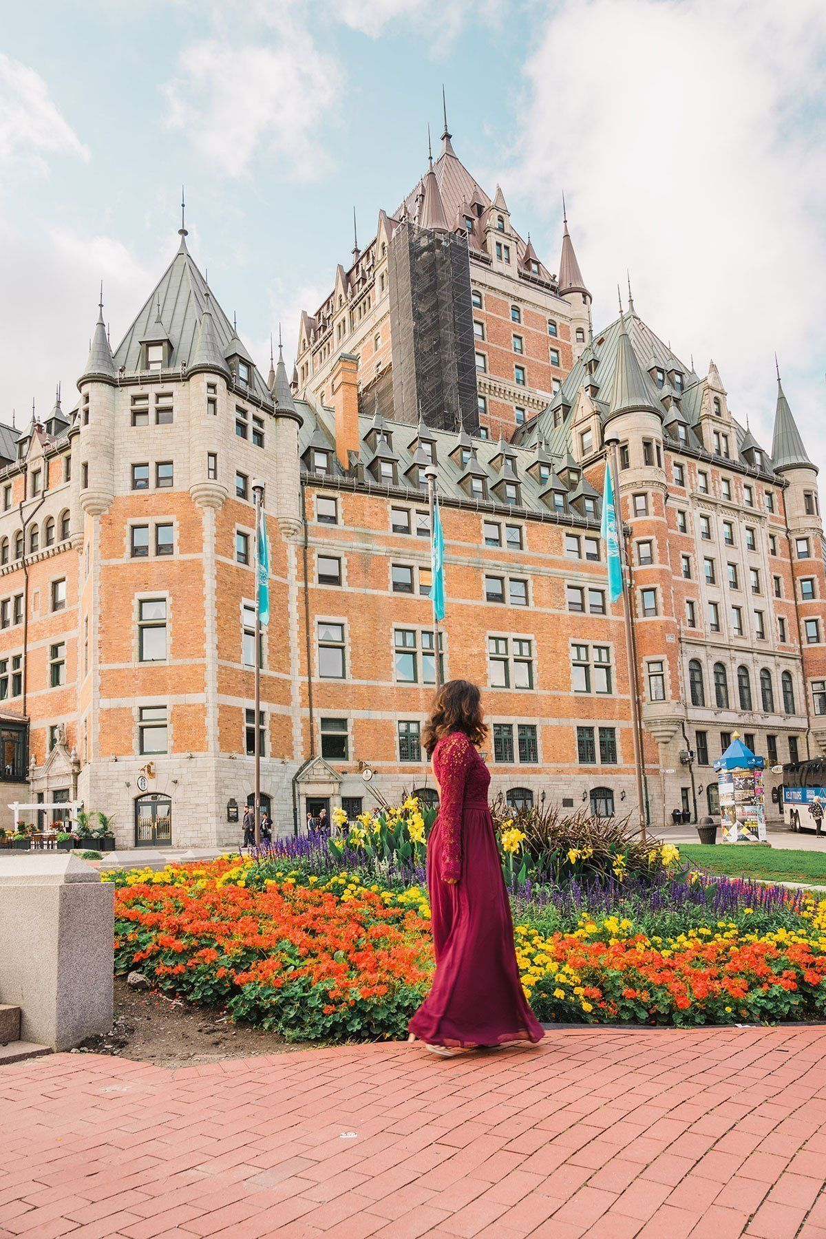 What's it like to stay at Château Frontenac — A Charming