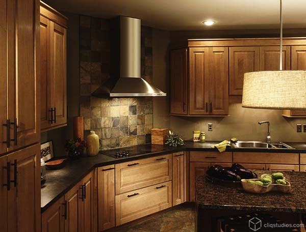 stone backsplash stone backsplash cooktop copyjpg love the stone backsplash - Stone Kitchen Backsplash