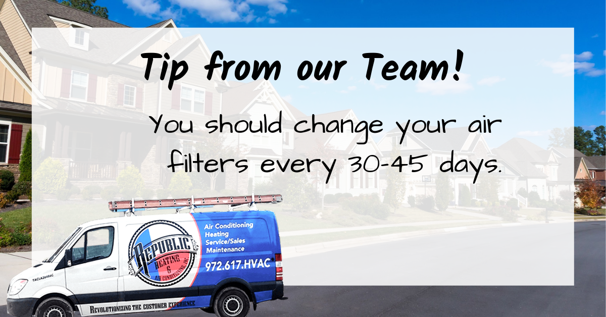 Hvactip Homeownertip Changing Your Air Filters Is A Vital Action