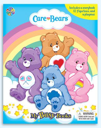 Phidal My Busy Books Phidal My Busy Books Care Bears 2 7643 2309 3 Care Bears My Busy Books Busy Book