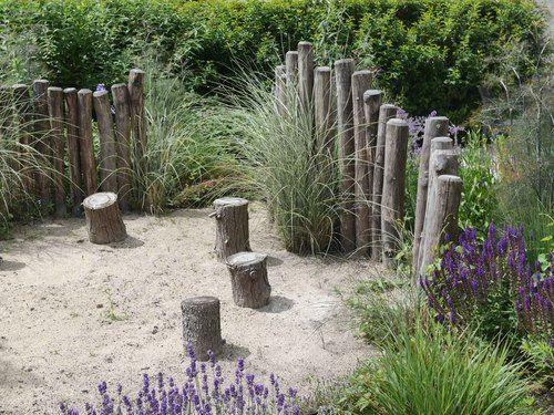 tuinontwerp haarlem landscape swag pinterest logs
