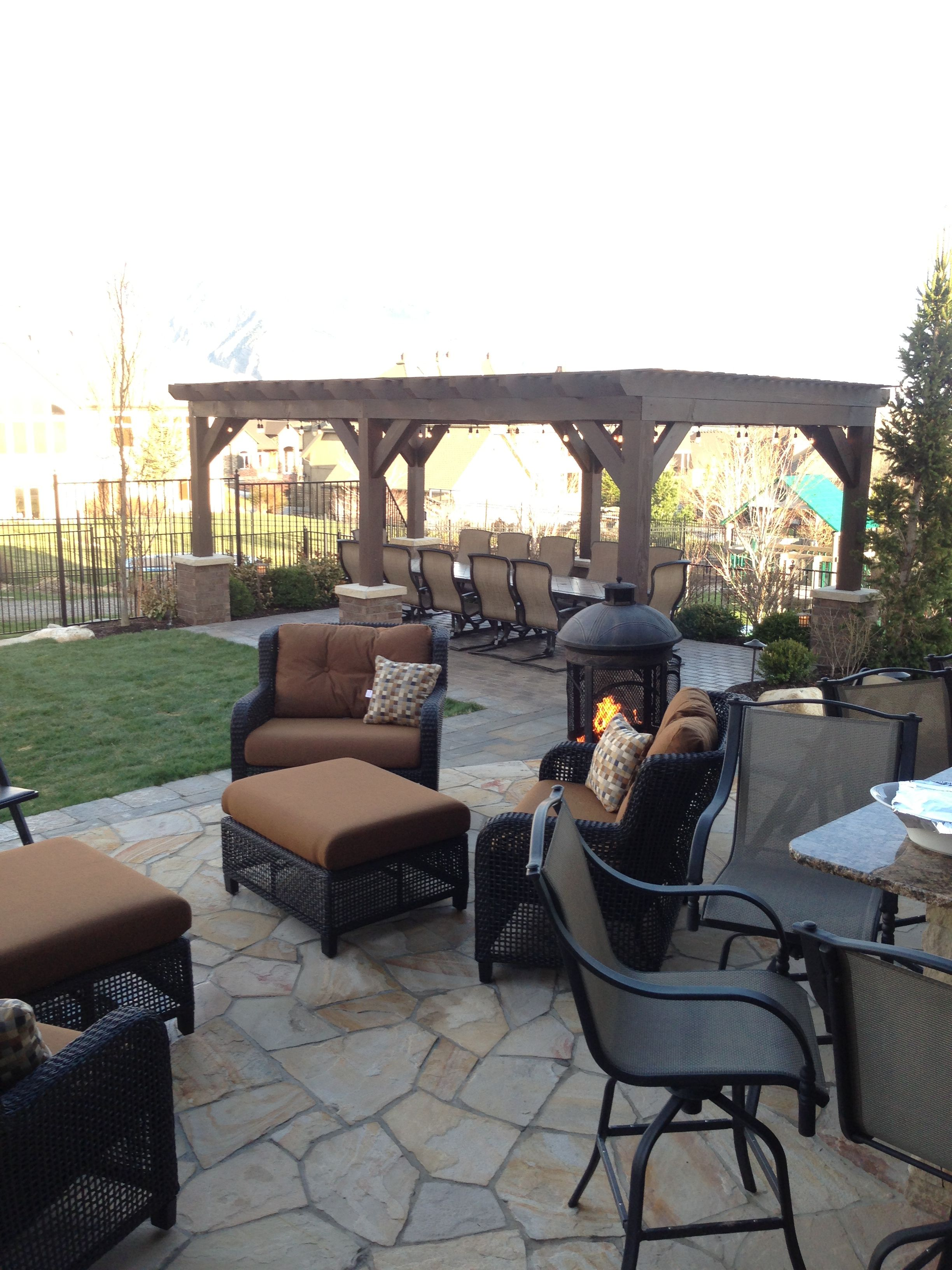 Patio of my dreams! Great way to dress up my back yard ... on My Dream Patio id=45639