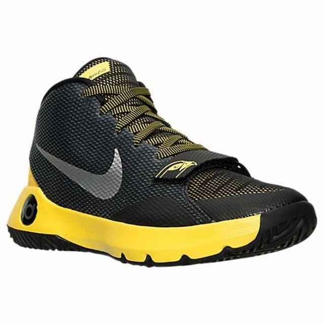 huge selection of 65700 94efd Nike KD Trey 5 III Mens Basketball Shoes 11 Black Silver Tour Yellow 749377  007  Nike  BasketballShoes