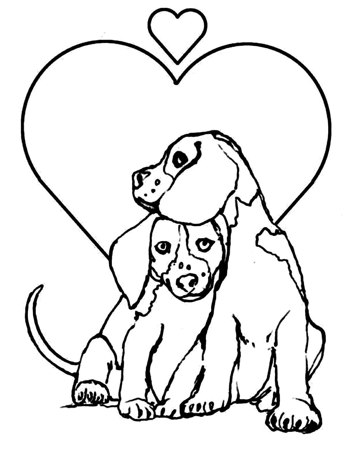 hund malvorlagen zum ausdrucken - coloring in 2020